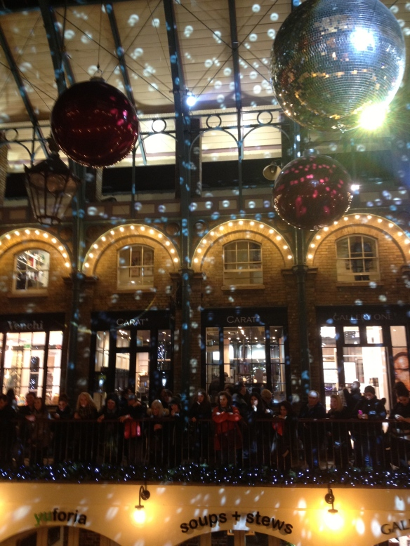 Covent Garden gets its Christmas on!