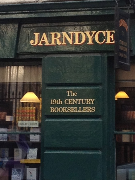 I love this bookshop across the street from the British Museum.  Can anyone place the name Jarndyce?  Leave your response in the comments! (no fair googling it!)