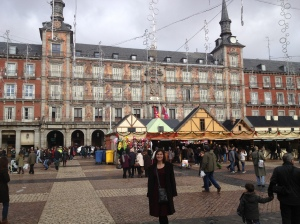 Part of the Plaza Mayor.