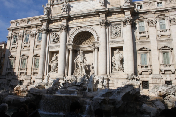 The Trevi Fountain...