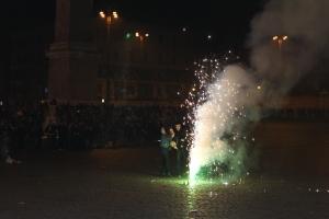 Freelance fireworks.