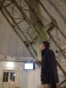 Shall we just say the telescope is 'bigger than a breadbox'?